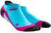 cep No Show - Chaussettes course à pied - rose/turquoise